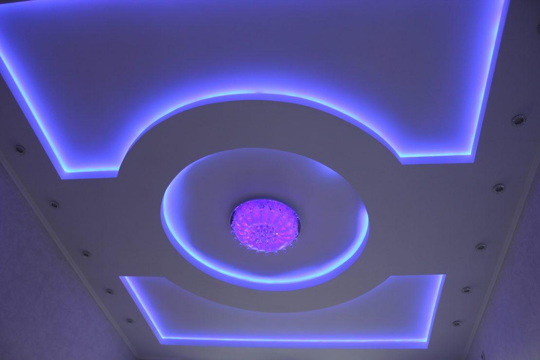 варианты обустройства подсветки