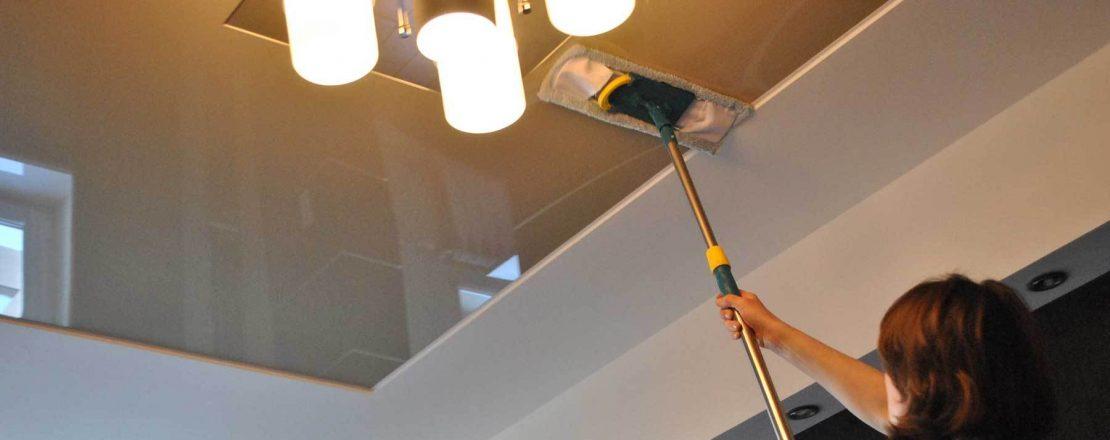 мытье потолков