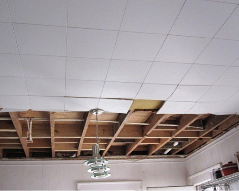 как демонтировать потолки