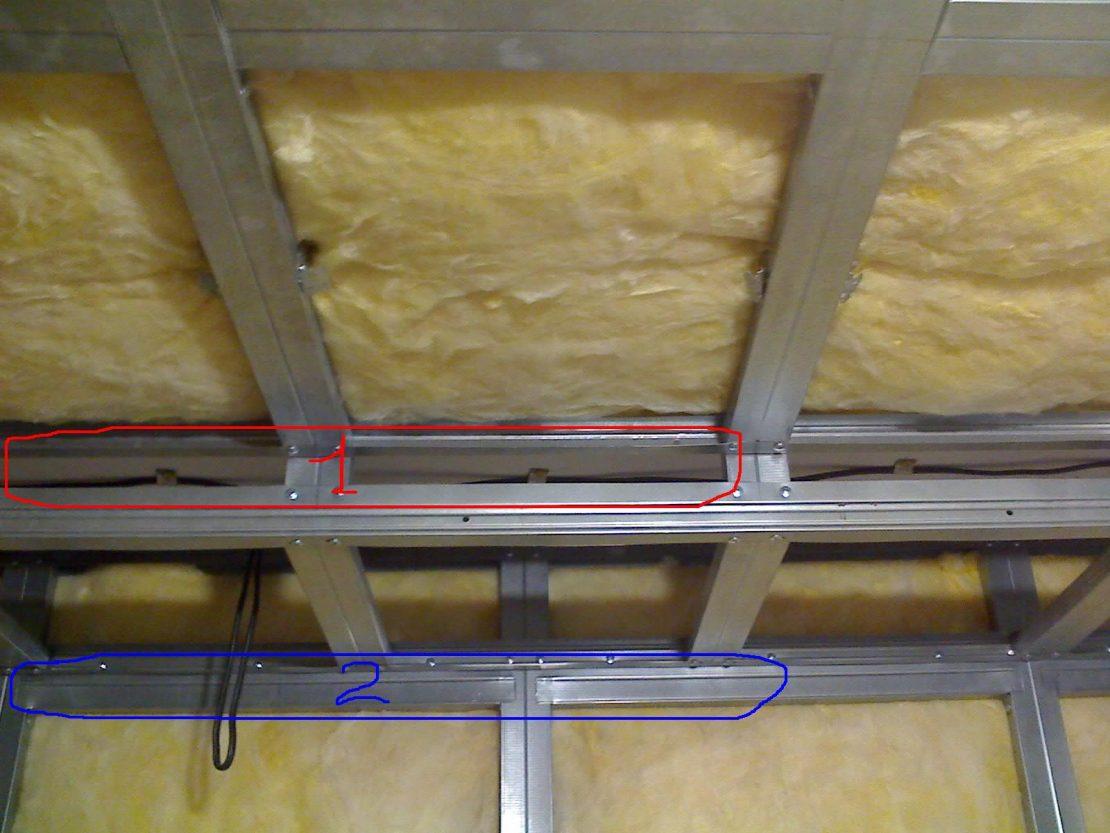 выкладка теплоизоляционных материалов