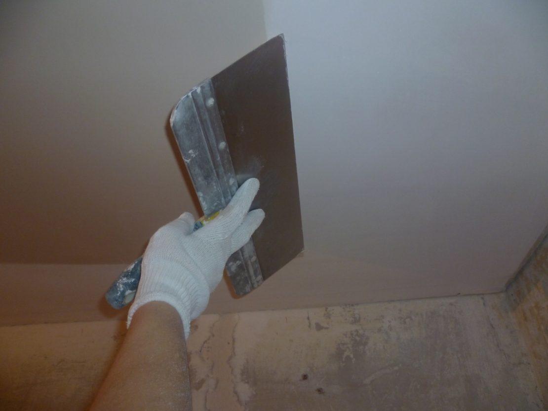 ремонт потолков косметический