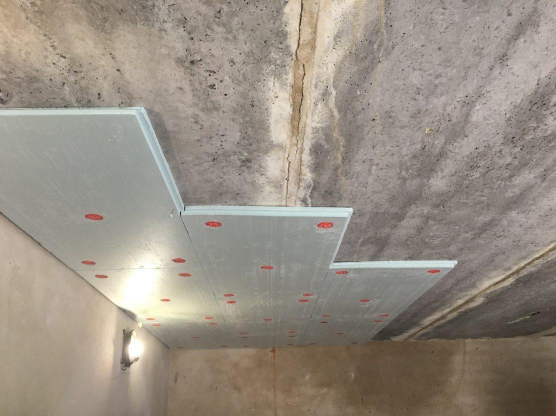 пенопласт для звукоизоляции потолков