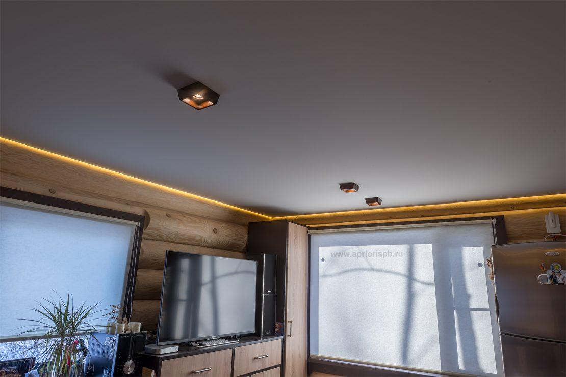 акустический натяжной потолок Клипсо