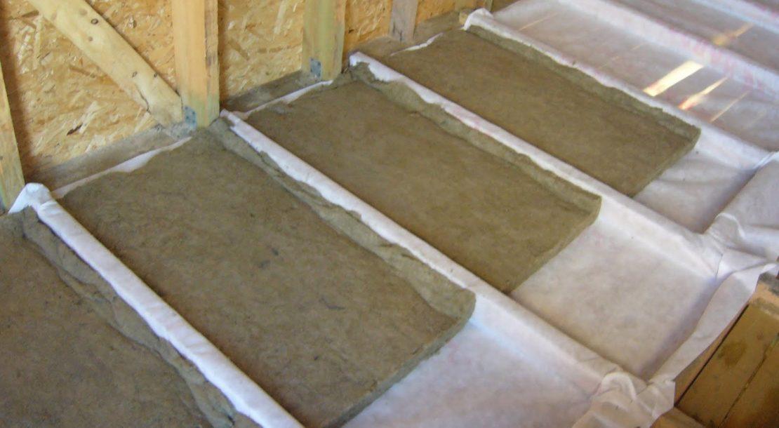 минвата для утепления потолка