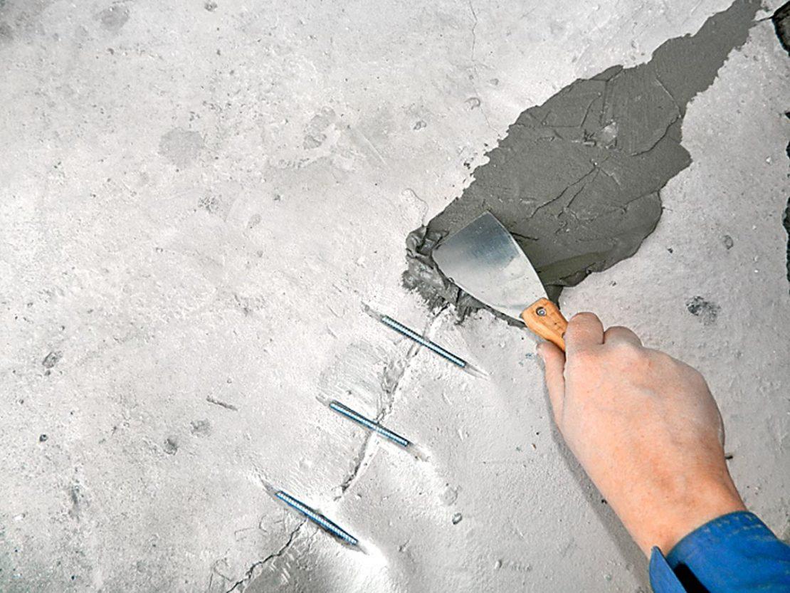 ремонт трещин
